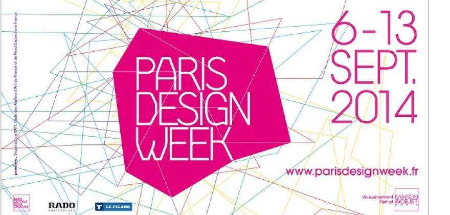 Be a part of Paris Design Week this September