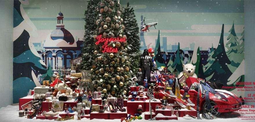 Shopping de Noël : féeries modernes et stylées