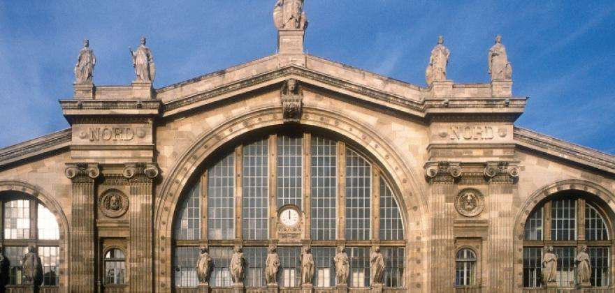 The Gare du Nord turns into a party palace