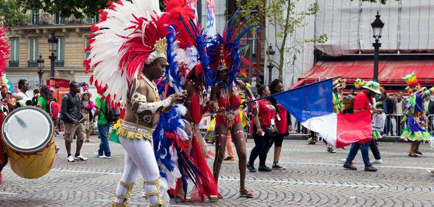 The Paris Carnival and its colourful parades