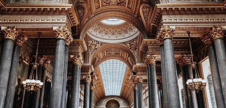 Direction le Château de Versailles