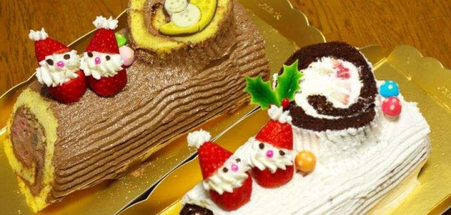 Christmas 2015; beautiful chocolate Yule logs for gourmands in Paris!