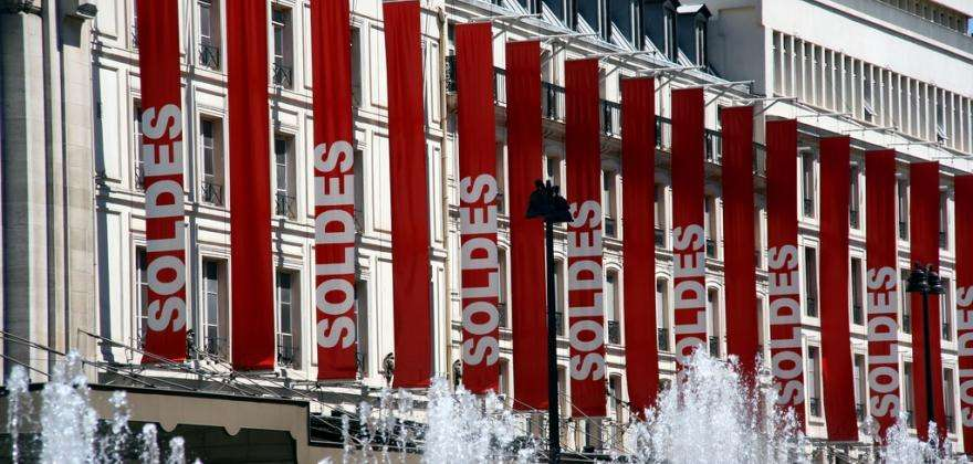 Paris Winter Sales, the Chinese New Year and interior decoration
