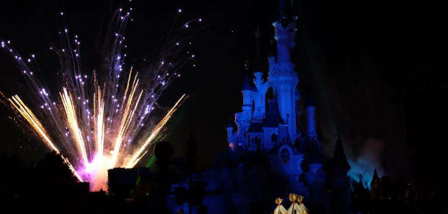 Paris is celebrating: fireworks at Disneyland and a Dali exhibition