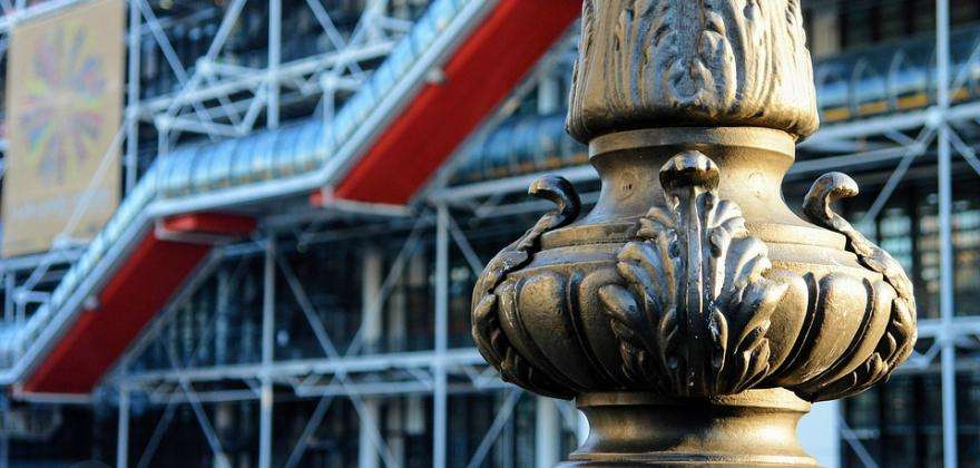 The Pompidou Centre; the Parisian quintessence