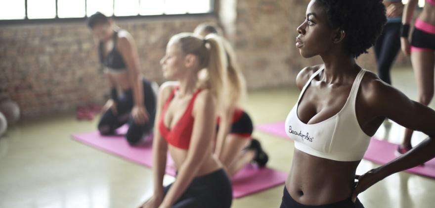 Wellness; yoga classes at the Montparnasse Tower