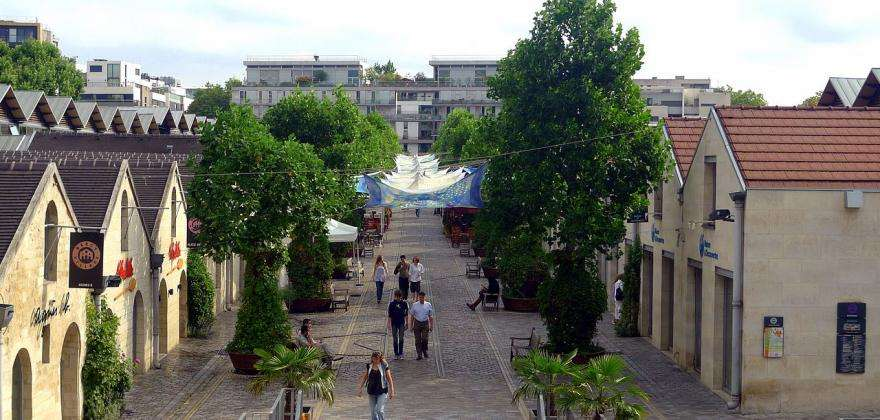 Bercy Village, un village authentique au cœur de Paris