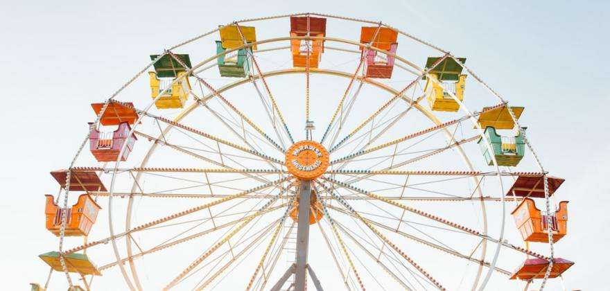 Foire du Trône; thrills, laughter and tasty treats
