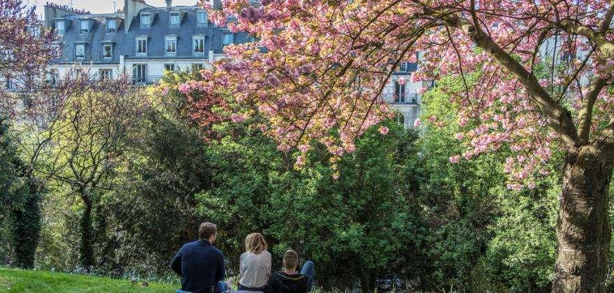 Balade sur la Coulée verte René Dumont ex Promenade Plantée