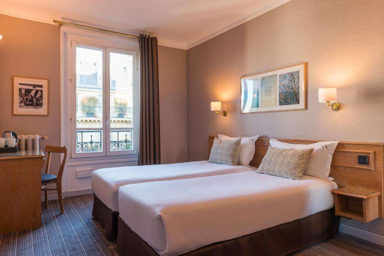 Paris France Hôtel - Chambre