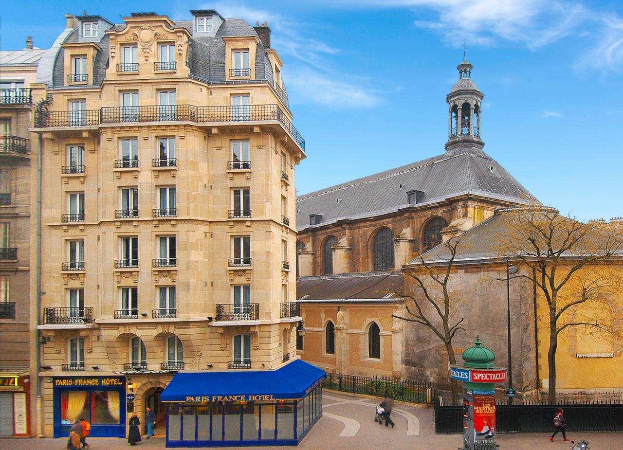 Paris France Hôtel - Façade de l'hôtel